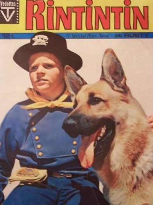 poster promocional de la serie rintintin