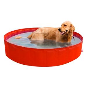 Piscinas rígidas de plástico duro, plegables, portátiles, resistentes y baratas para perros grandes, medianos y pequeños